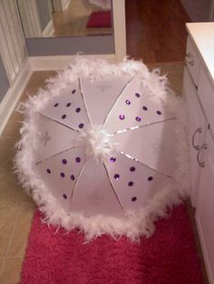 Bride second line wedding umbrella- super sparkly!