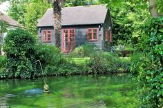 Secluded from the world, this Faversham cottage is set in an acre of private gardens that ...