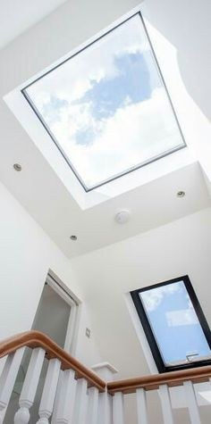 roof light at top of stairs