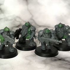 Death of a Rubricist: + inload: Tutorial – Converting squats from Kharadron Arkanauts Miniature Bases, 40k Imperial Guard, The Grim, Space Marine, Warhammer 40k, Squats, Death, Awesome Stuff, Painting