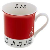 Music Sales Mug Love Music Red