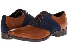Cole Haan Copley Saddle Oxford British Tan/Blazer Blue - Zappos.com Free Shipping BOTH Ways  $148.00