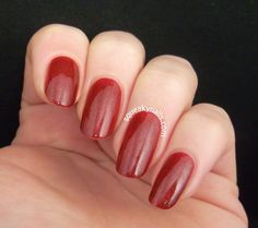 Swatch - Spell Polish Cardinal Sin | Squeaky Nails http://www.squeakynails.com/2015/01/swatch-spell-polish-cardinal-sin.html