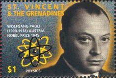 Wolfgang Pauli Postage Stamp
