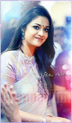 Beautiful Bollywood Actress, Beautiful Indian Actress, Beautiful Actresses, Beautiful Women, South Actress, South Indian Actress, Kirthi Suresh, India Beauty, Beauty Queens