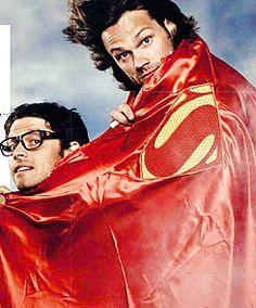 Supernatural's Misha Collins and Jared Padelecki