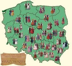 Polish Costumes by Region..