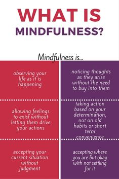 Mindfulness: It's not as difficult or as woo-woo as you think! #Mindfulness #Meditation
