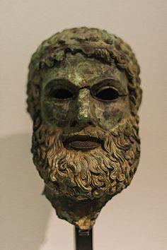 Reggio Calabria - Scultura in bronzo al museo di Reggio Calabria