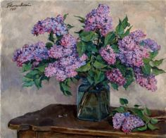 Lilac - Pyotr Konchalovsky