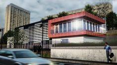 New Office building - Rendering