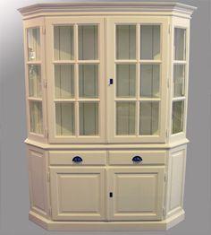 Vaisselier blanc d ivoire cuisines pinterest - Meuble blanc d ivoire ...