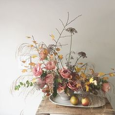 summer wedding flower arrangement