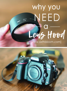 Photography Tips, Camera Lens tips, Lens Hood tip