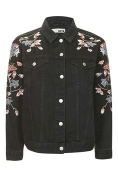 MOTO Floral Embroidered Jacket