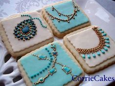 Great idea for Sweet 16th Birthday Celebration of Jewelry Cookies by Sweet Ambs. Description from pinterest.com. I searched for this on bing.com/images