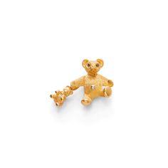 GOLD BROOCH, TIFFANY & CO. Yellow gold 750. Designed as a teddy bear…