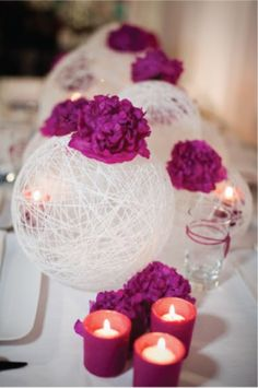 Unique Wedding Decorations Centerpieces - Romantique For more unique tidbits check out my website www.UniquelyYouMT.com