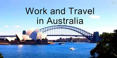 Work and Travel in Australia