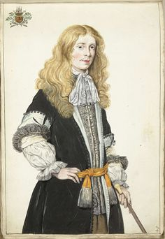 *He is wearing a cap-sleeve coat.* Gesina ter Borch, Portret van Moses ter Borch (ca. 1670, Rijksmuseum, Amsterdam)