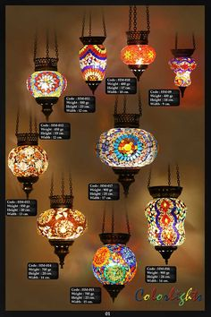 Mosaic Lamps Ottoman Lamps Turkish Lighting Manufacturer Catalogs is part of Ottoman lamps -