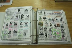notebook timeline by jimmiehomeschoolmom, via Flickr
