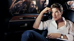 What Fame Looks Like for Benedict Cumberbatch -- He reminds me of Logan Echolls (Jason Dohring) in this picture --Yum