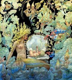 Mermaid by Harold Glaze, 1939