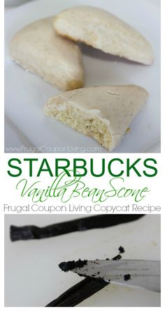 Copycat Starbucks Vanilla Bean Scone Recipe - Details on Frugal Coupon Living.