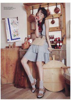 Choi Sora for Vogue Korea Sept 2015