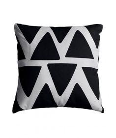 Black Tri Cushion Cover