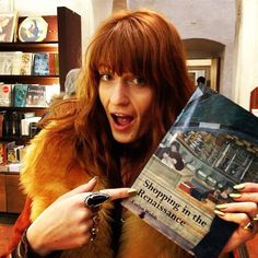 Florence Welch of Florence and the Machine in our Arrowhead Ring!