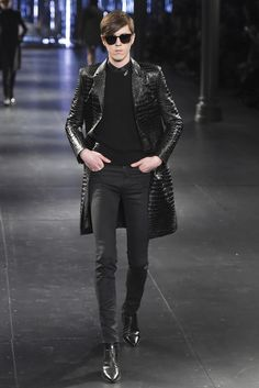 Saint Laurent Men's RTW Fall 2015 - Slideshow