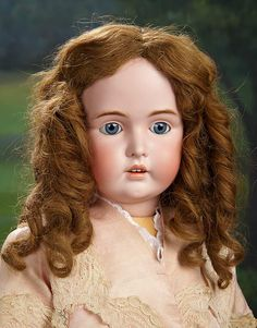 """""""I Only Wanted to Wonder"""" - August 1, 2017: 404 Large Beautiful German Bisque Doll by Kestner"""