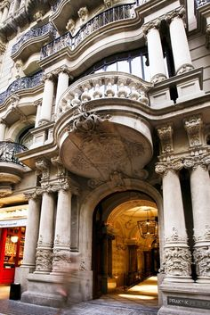 Praktik Rambla in Barcelona, Ornate 19th century exterior | Remodelista
