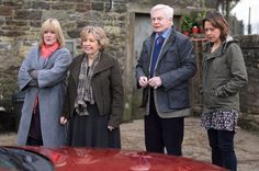 As series two ends tonight there's no word yet on whether will commission a third series of one of the best sitcoms of all time. Last Tango In Halifax, Nicola Walker, Sarah Lancashire, All About Time, Tv Shows, Bomber Jacket, Brand New, Third, People