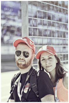 Alan & Marie - Racing week-end at the Shanghai Circuit. Pictures by Guillermo MIGNOT.
