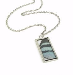 B U T T E R F L Y silver // necklace by Blydesign on Etsy, $33.00