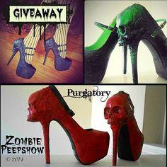 Purgatory ~ Zombie Peepshow Heels