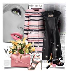 """""""PInk & Black"""" by mslewis6 on Polyvore"""