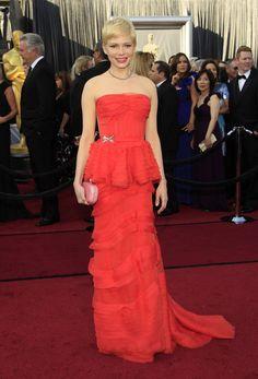 Michele Williams @ 2012 Academy Awards (Oscars)