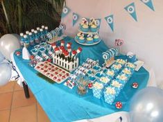 Smurfs Birthday Party Ideas | Photo 51 of 61 | Catch My Party