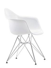 Poltroncina Eames Plastic Armchair DAX con cuscino Vitra | VITRA ...