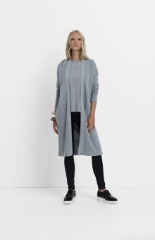 Elk Accessories Extra fine Merino wool blend for this extremely tactile ribbed Ottoman Knit Long Cardigan. Long length with pockets on each side, fully fashione Elk Accessories, Fashion Accessories, Winter Essentials, Long Cardigan, Winter Wardrobe, Merino Wool, Wool Blend, Knitwear, Ottoman