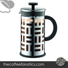 The French press is accepted worldwide as one of the best and greenest ways to brew coffee. 3-part stainless steel mesh filter is included which allows for a premium extraction of your coffee's aromatic oils and subtle flavors. Best French Press Coffee, Stainless Steel Mesh, Brewing, Filter, Good Things, Mugs, Tableware, Glass, Dinnerware
