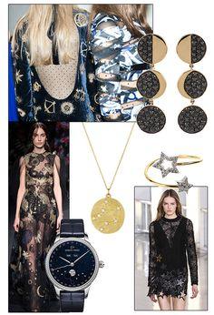 Fashion Week Fall/Winter 2015-2016 trends: Cosmic jewelry | Vogue Paris