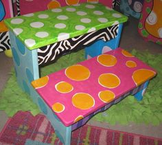 Christy's Funky Furniture - New Products Pg 1