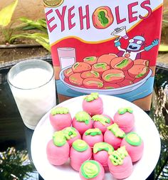 [OC]Truffle Eye Holes - Rick and Morty [1334x750] #desserts #sweet #recipe #cake #yum #yummy #icecream #chocolate #food #dessert