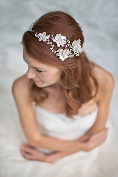 Hermione Harbutt Bridal Accessories Collection 2014 #bridal accessory #bridal hairstyle #hair accessory