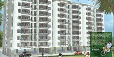 3d Exterior design [ Modeling, Texturing, Lighting ]& Graphic design -Alperia Residential Apartment, India